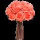 12 Rosas tallo largo rosadas ( sin Jarron)