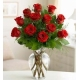 12 rosas blancas